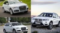 Comparison: 2014 Audi Q5 vs 2015 BMW X3 | otoDriving