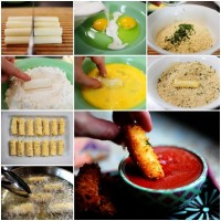 Quick Mozzarella Cheese Sticks Recipe | UsefulDIY.com