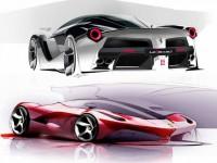 LaFerrari Design Sketches - Vehicles Concepts | Socialdoe.com