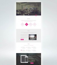 JAKARTA WEB DEVELOPER - (via Dribbble BrandaLoka Creative Onepage PSD...