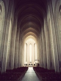 FFFFOUND! | Grundtvigs Church on the Behance Network