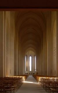 You can't walk backwards into the future. / p.v. jensen-klint 10, grundtvig memorial church 1913-1940 | Flickr - Photo Sharing!