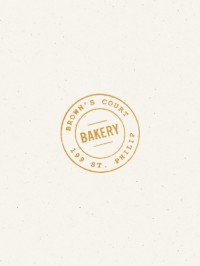 Stamp / Brown's Court Bakery Logo | Nudge