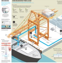 Port of Salalah infographic on