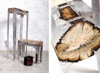 Hilla Shamia Melds Aluminum With Wood In Her Striking Furniture Designs - The Fox Is Black