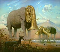 Surrealist Universe by Vladimir Kush - Pondly
