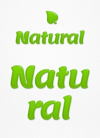 Natural Text Effect | AlienValley