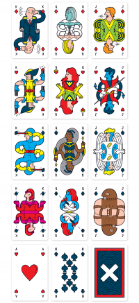 Uncanny Playing Cards on