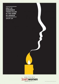 Potent posters highlight issue of 'honour killings' | Posters | Creative Bloq