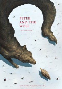 Poster / Designersgotoheaven.com - Peter and the Wolf by Phoebe Morris