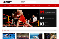 Novelty - Magazine WordPress Theme | TeslaThemes
