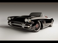 1962 Chevrolet Corvette C1-RS by Roadster Shop - Front Angle - 1920x1440 - Wallpaper