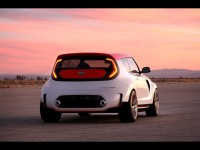 2012 Kia Track'ster Concept - Rear Angle - 1600x1200 - Wallpaper
