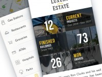Interface Design / iPhone App Design by http://ramotion.com