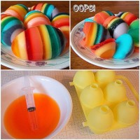 DIY Rainbow Easter Eggs