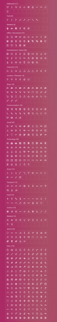 2,000 iOS7-Style Icons With Reselling License on Inspirationde
