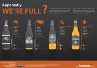 Infographic: Apparently… we're full? : human. (Human Ventures)