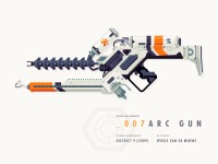 Epic Armory: ARC Gun by Justin Mezzell