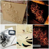 DIY Backlit Canvas Art