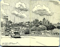 san antonio skyline from alamo stadium parking lot | Flickr - Photo Sharing!