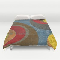 Crowd Duvet Cover by metron   Society6