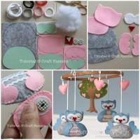 DIY Nursery Owl Mobile
