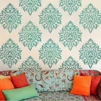Wall pattern stencils - Stencil patterns for DIY home decor - Wall stencils