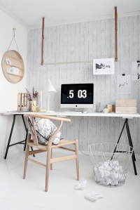 HOW TO CREATE A SMALL WORKPLACE IN A TINY HOME on Inspirationde