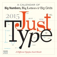 The Typeface Wall Calendar by Workman Publishing