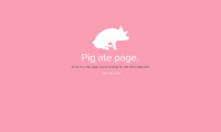 Find Bacon 404 Page