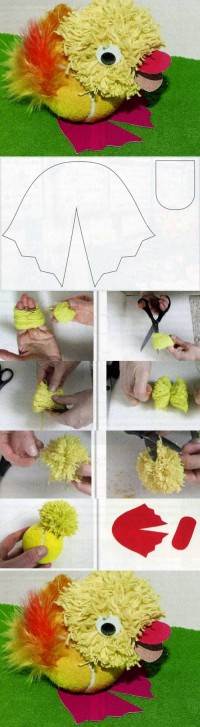 DIY Cute Cheerful Duck