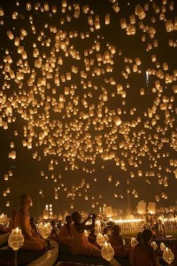 How Random / Chinese lanterns