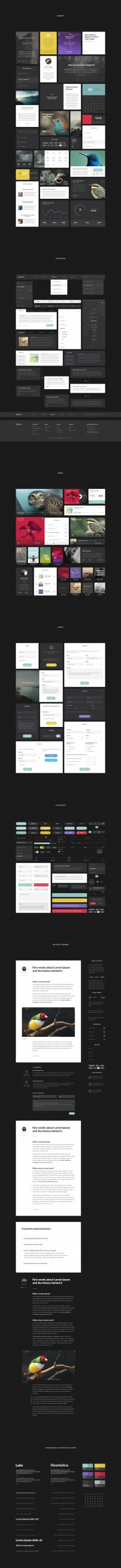 Aves UI Kit on Inspirationde