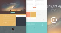 Free Download : Starnight HTML5/CSS3 Website Template(PSD included) | Designbeep