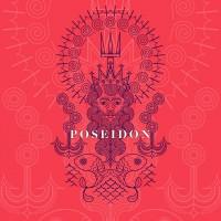Line Art Poseidon - atisuto