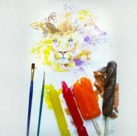 Â¡Este artista pinta con helados en vez de pintura! | Upsocl