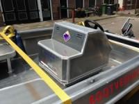 BootVerhuurBolsward » De elektrische boot is nu ook bestickerd. Mooi werk @ZWFontwerp!
