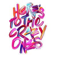 "Typeverything.com ""Here's to the crazy ones"" by... - Typeverything"