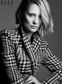 ELLE CANADA: Mia Wasikowska by Photographer Max Abadian - Image Amplified: The Flash and Glam of All Things Pop Culture. From the Runway to the Red Carpet, High Fashion to Music, Movie Stars to Supermodels.