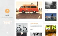 Fixie Tumblr Theme - Precrafted
