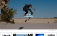 Go Big Tumblr Theme - Precrafted