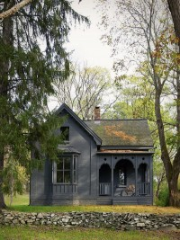11 Traditional Houses Gone to the Dark Side: Remodelista