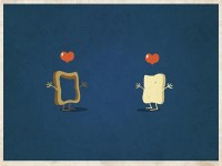 Love is everywhere #5 by vainui de castelbajac