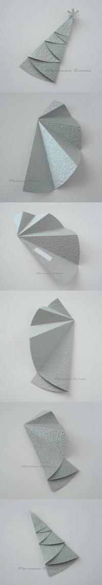 DIY Foldable Christmas Tree