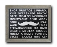 Mustache Languages Movember Multiple Different by DandWElements