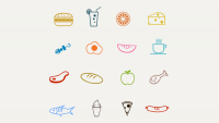 16 Food Icons — PixelsDaily