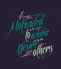 Desire - Typography - Creattica
