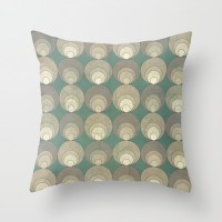 Cluster Throw Pillow by metron | Society6