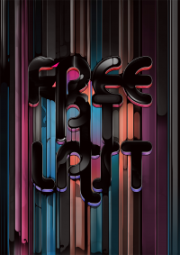 Free At Last - Typography - Creattica