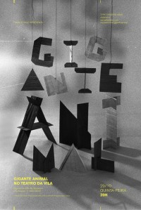 sculpture typography / black & white | typography / graphic design: Daniella Domingues on Inspirationde